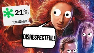DARK PHOENIX gets TRASHED by CRITICS on ROTTEN TOMATOES !! New Sophie Turner X-Men movie sits at 21%