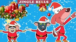 Rat-A-Tat |'Jingle Bells Christmas Songs Dance Mice & Santa 1HR'| Chotoonz Kids Funny Cartoon Videos