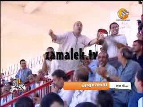 Funny Egyptian football fan. ;)
