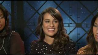GLEE Interviews with Lea Michele, Cory Monteith, Dianna Agron, Heather Morris, Naya Rivera & more!