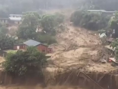 Raw: Typhoon Soudelor Hits Taiwan; 4 Dead