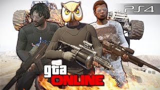 GTA 5 Online (PS4) - Команда-Black! #96
