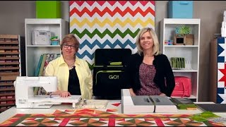 Quilting Tutorial - GO! Big Electric Fabric Cutter