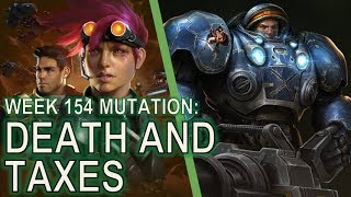 Starcraft II: Co-Op Mutation #154: Death and Taxes