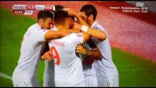 Albanija-Srbija 0:2  (8.10.2015) golovi