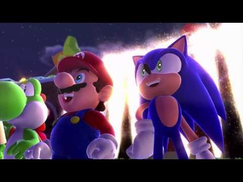 Mario & Sonic at the Sochi 2014 Olympic Winter Games Trailer - Nintendo Direct (High Quality!)