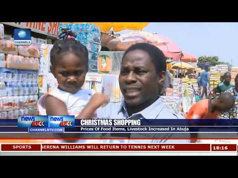 Christmas Shopping: Prices Of Food Items, Livestock Increased In Abuja