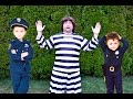 Kid Cops Capture The Escapee Prisoner After He Breaks Out of ...