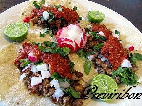 #8 tacos de tinga res chipotle recetas comida hd