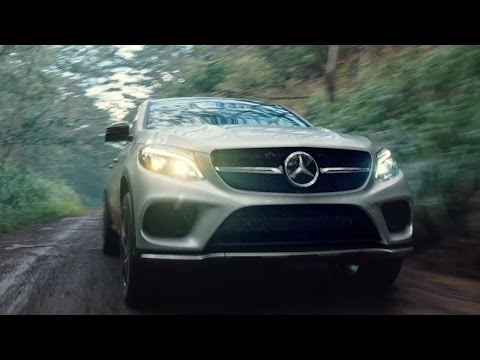 Jurassic World - Mercedes Benz GLE Coupe Sneak Peak