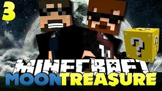 Minecraft Modded Moon Treasure 3 - LUCKY BLOCK SCAVENGER HUNT