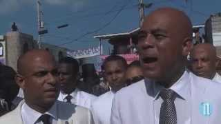 VIDEO: Haiti - Commemoration De La Mort De Dessalines, Interview President Martelly - 17 Octobre 2014