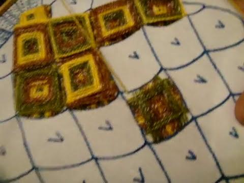 bordado fantasia  piña,  NUMERO 25