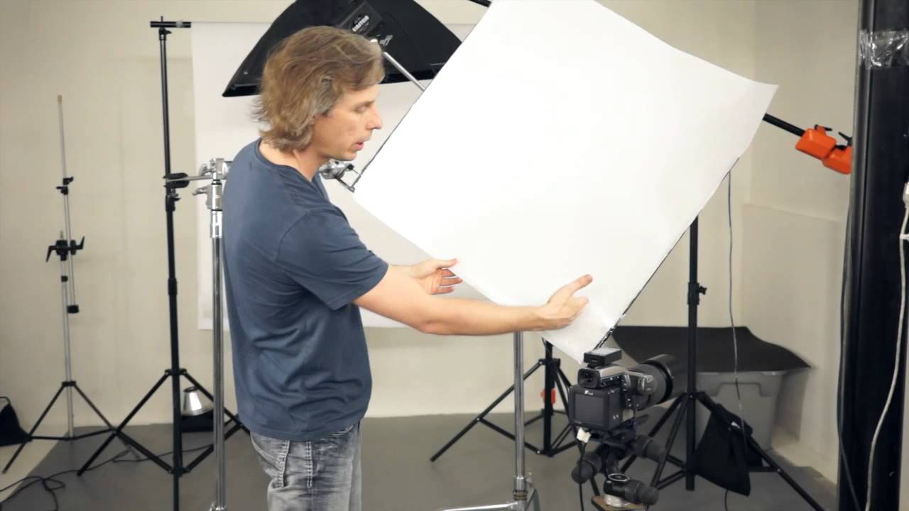 Diy Light Modifiers For Studio Photography Scrim Frame