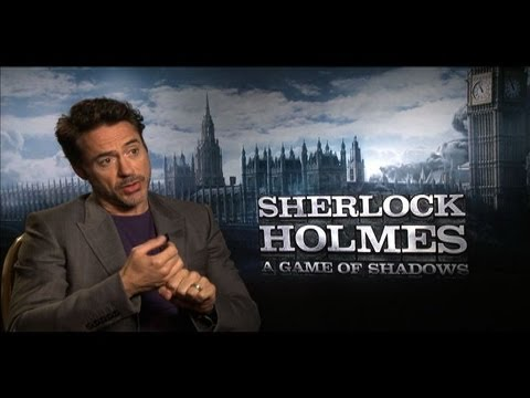 Robert Downey Jr. Interview for SHERLOCK HOLMES 2: A GAME OF SHADOWS