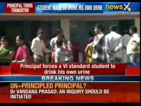 A Student Made To Drink His Own Urine As A Punishment In  Don Bosco - Newsx video