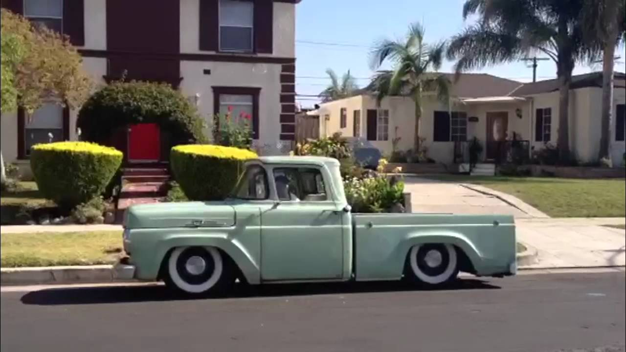 My 1959 Ford F100 Before and After. Photos and Video - YouTube