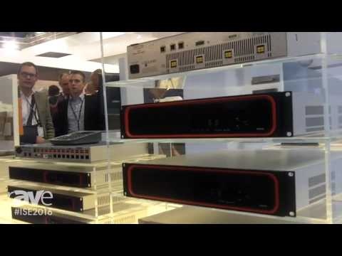 ISE 2016: Biamp Systems Debuts Tesira Amplifiers