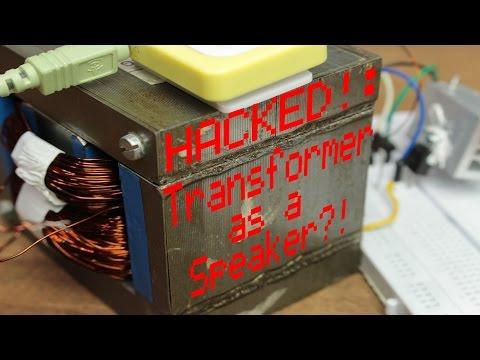HACKED!: Transformer as a Speaker?!