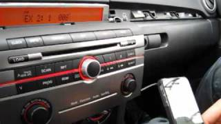GTA Car Kits - Mazda 3 2004-2009 install of iPhone, Ipod, AUX and MP3 kit for factory stereo