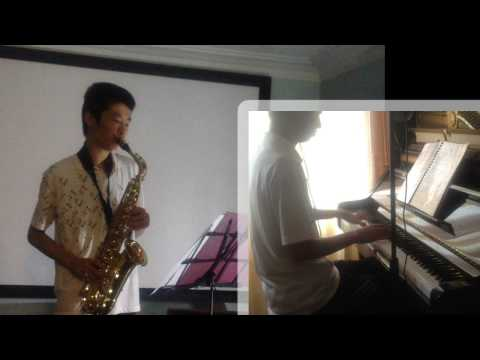 Rather Be (Clean Bandit) - Saxophone and Piano Cover