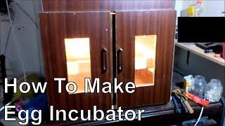 How to make 200 egg incubator automatic temperature - homemade incubator - simple incubator