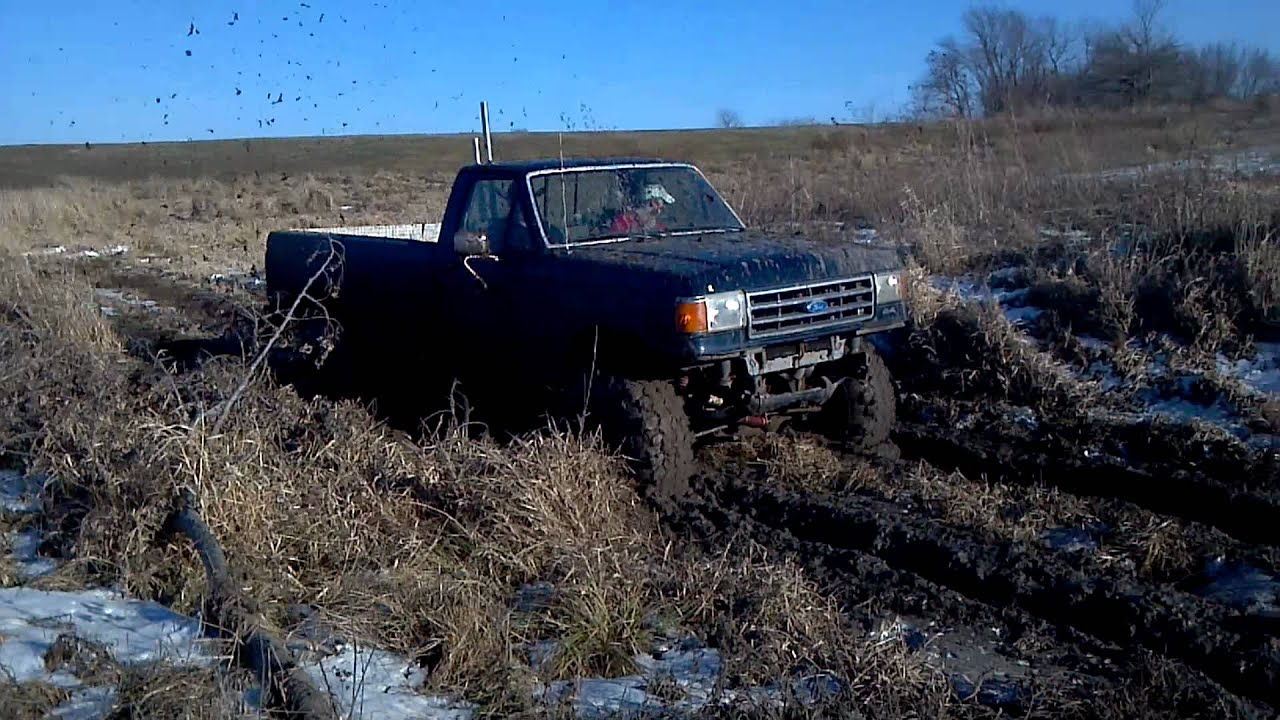Jacked up Ford Mud Trucks Jacked up Ford