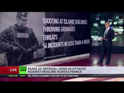 Vive la republique? 50+ anti-Muslim attacks across France in Charlie Hebdo aftermath