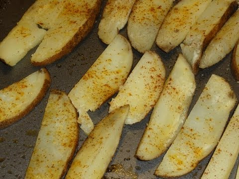 "Roasted French ""Fried"" Potatoes"