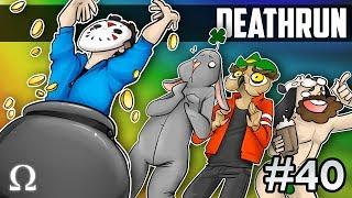 JIGGLY'S ST. PATRICK'S DAY DEATHRUN PARTY!   GMOD Deathrun #40 Ft. Vanoss, Jiggly, Delirious, Moo