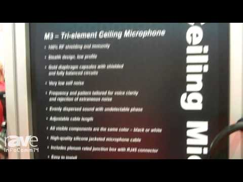 InfoComm 2014: Audix Introduces the M3 Tri-Element Ceiling Microphone
