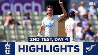 England v New Zealand - Day 4 Highlights | New Zealand Win Series | 2nd LV= Insurance Test 2021