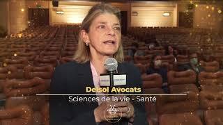 Palmarès du Droit 2021   Delsol Avocats   Sciences de la vie   Santé