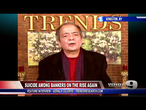 Gerald Celente: Banker Suicides the Prequel to Global Collapse