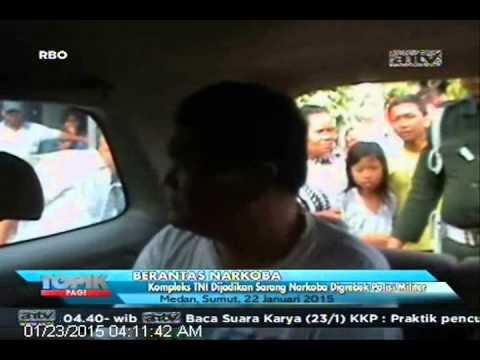[ANTV] TOPIK, Polisi Militer Grebek Kompleks TNI Yang Dijadikan Sarang Narkoba