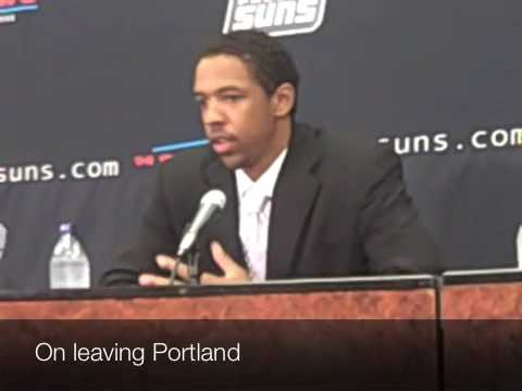 Channing Frye Signs with the Phoenix Suns - Press Conference