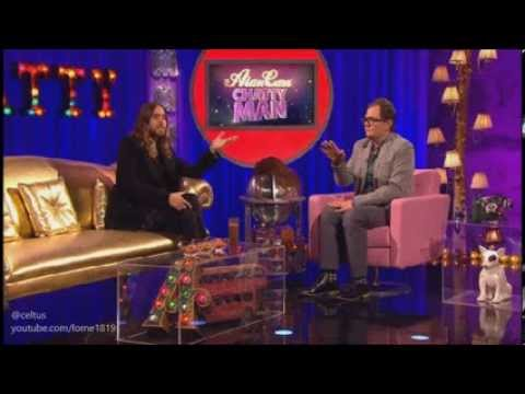 Jared Leto on Alan Carr Chatty Man - 25 October 2013 Interview