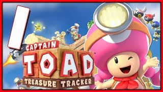 Captain Toad Treasure Tracker HD - Part 1 Plucky Pass (Nintendo Switch)
