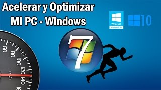 Acelerar & Optimizar Windows 7 - 2017