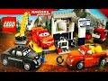 Лего Тачки 3 Молния Маквин Гараж Выхлопа Мультики про Машинки Lego Cars 3 Lightning McQueen