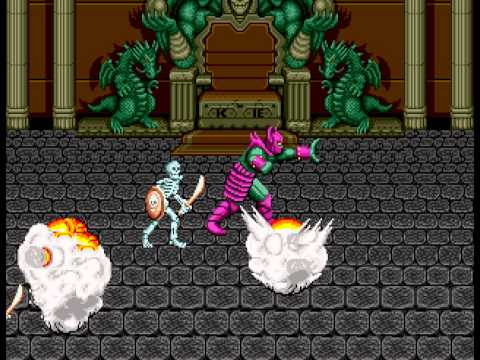 Golden Axe - TERRIFYING DEATH!! - User video