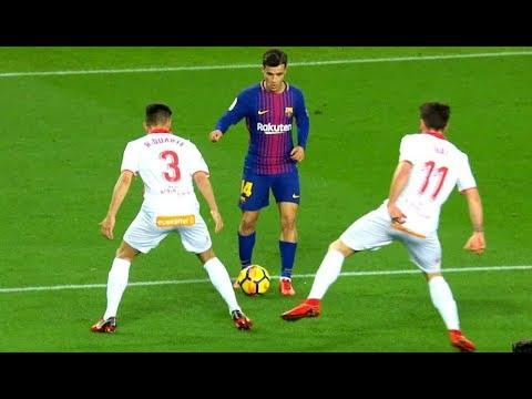 Как играет Коутиньо за Барселону 2018