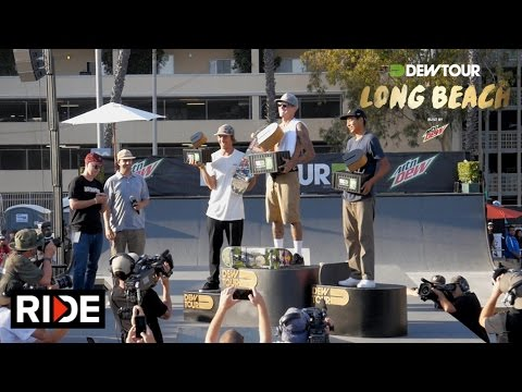 Ryan Sheckler Wins Dew Tour Long Beach