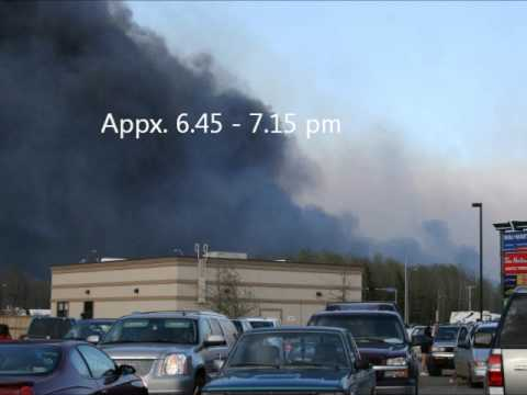 Slave Lake Fire - from 3.00 pm to 8.00 pm