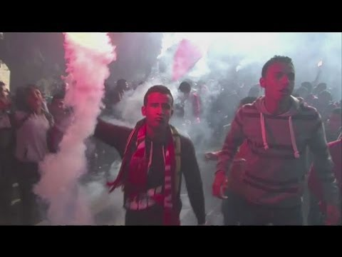 Football riot death sentences spark violence in Egypt