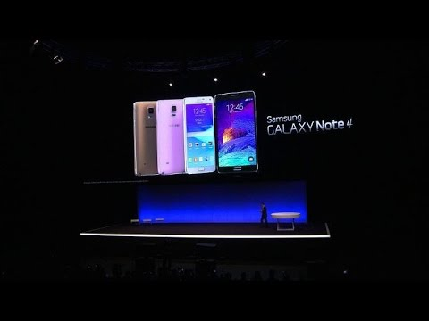 Samsung unveils new products at Berlin electronics fair