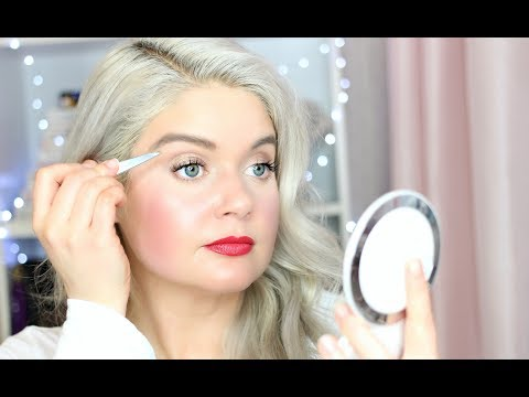 How to Shape Eyebrows at Home with Tweezers + How to Grow Eyebrows   Brow Growth Serum Reviews