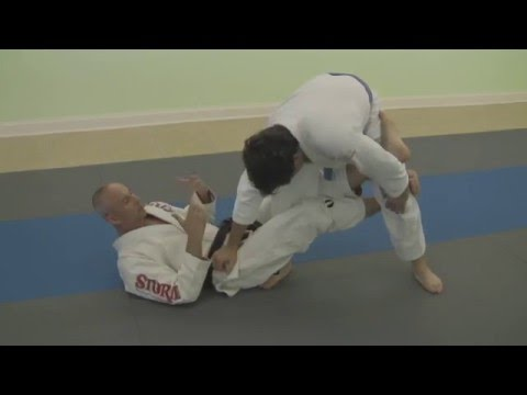 Brazilian Jiu-Jitsu (BJJ) New Jersey Silver Fox Martial Arts De la Riva / X Guard Combo Attacks Image 1