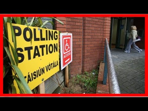 Breaking News | Voters urged to bring polling cards and ID along to polling stations today