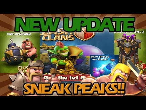 clash of clans updates history